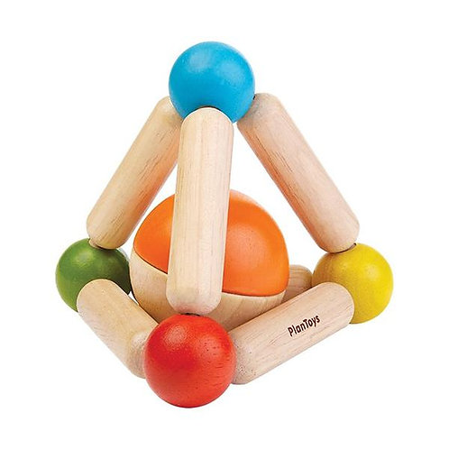 Plan Toys | Triangle Clutching toy