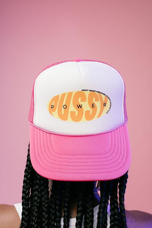 Pussy Power Trucker (Pink)