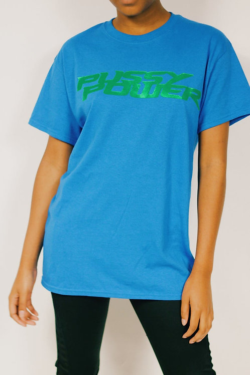Kp logo T-shirt (Blue)