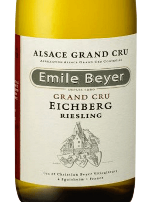 Riesling Alsace Grand Cru Eichberg, Organic, Emile Beyer