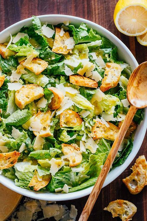 Classic little gem lettuce Caesar salad