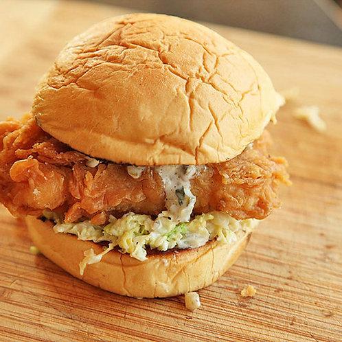 Beer Battered Cod Burger