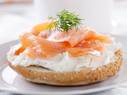 John Ross Smoked Salmon Bagel