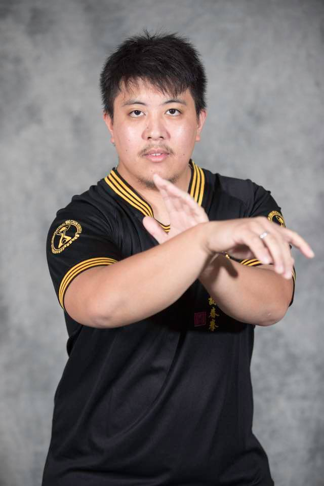 Practical Wing Chun instructor Tony