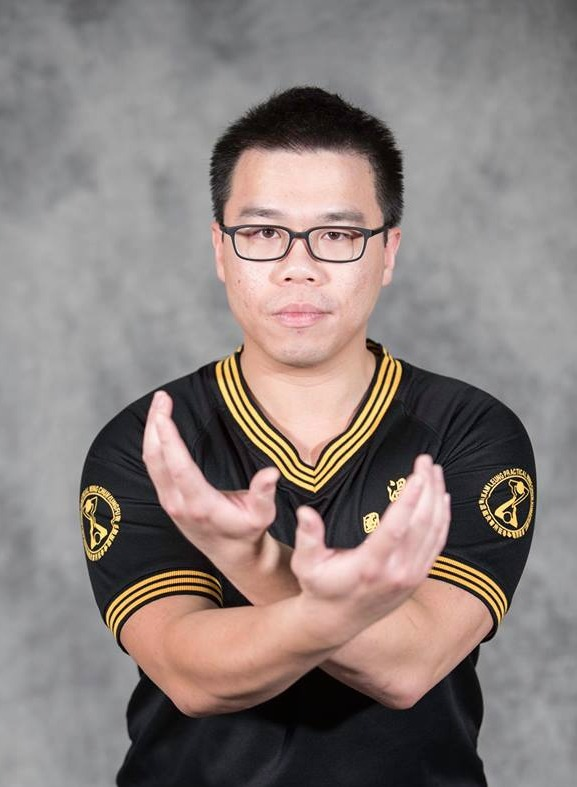 Practical Wing Chun instructor Ricky