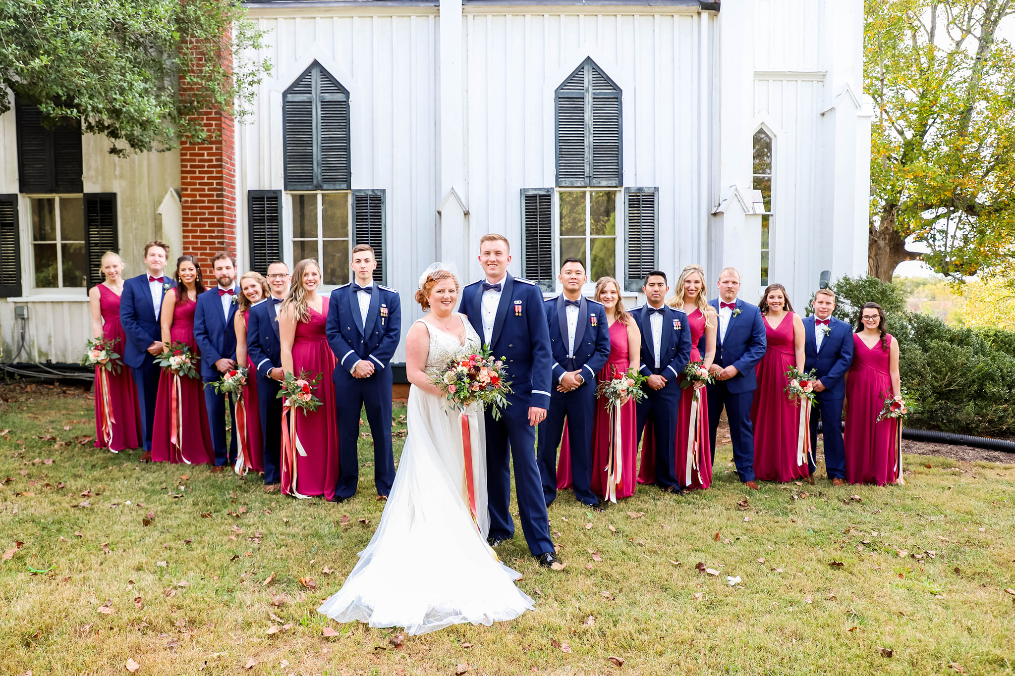 Proud Military Wedding