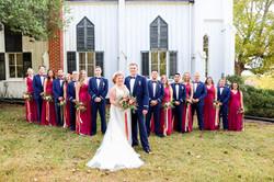Proud Military Wedding