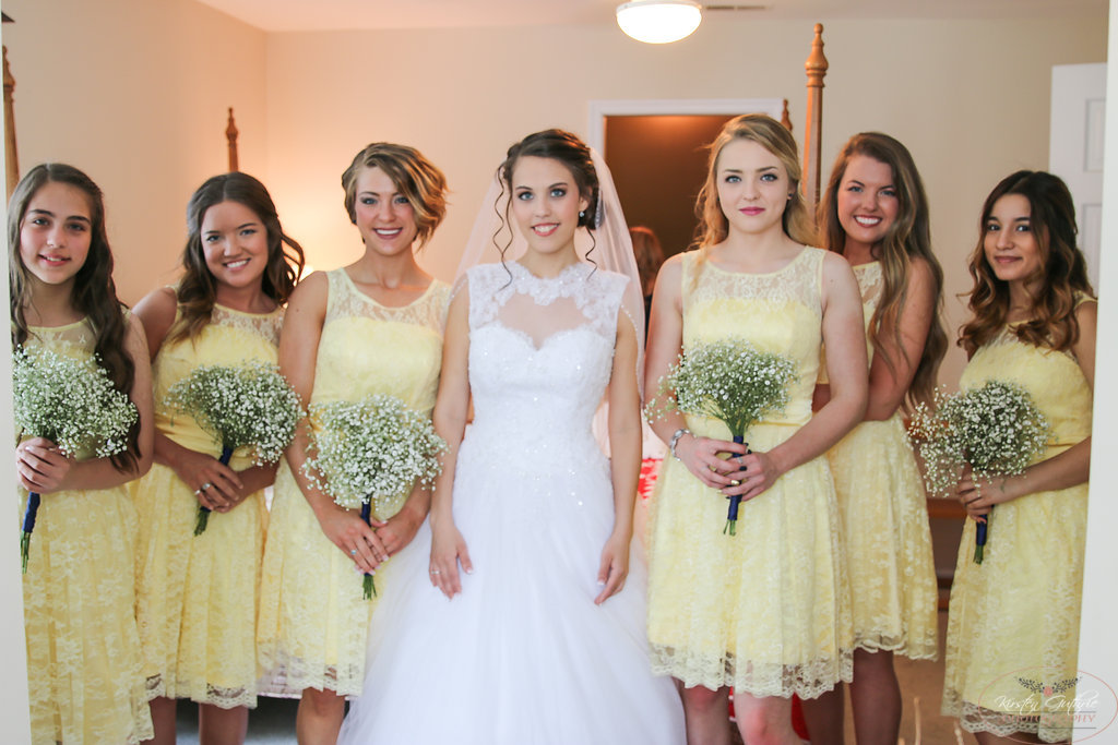 "The Bride & Her ""Maids"""