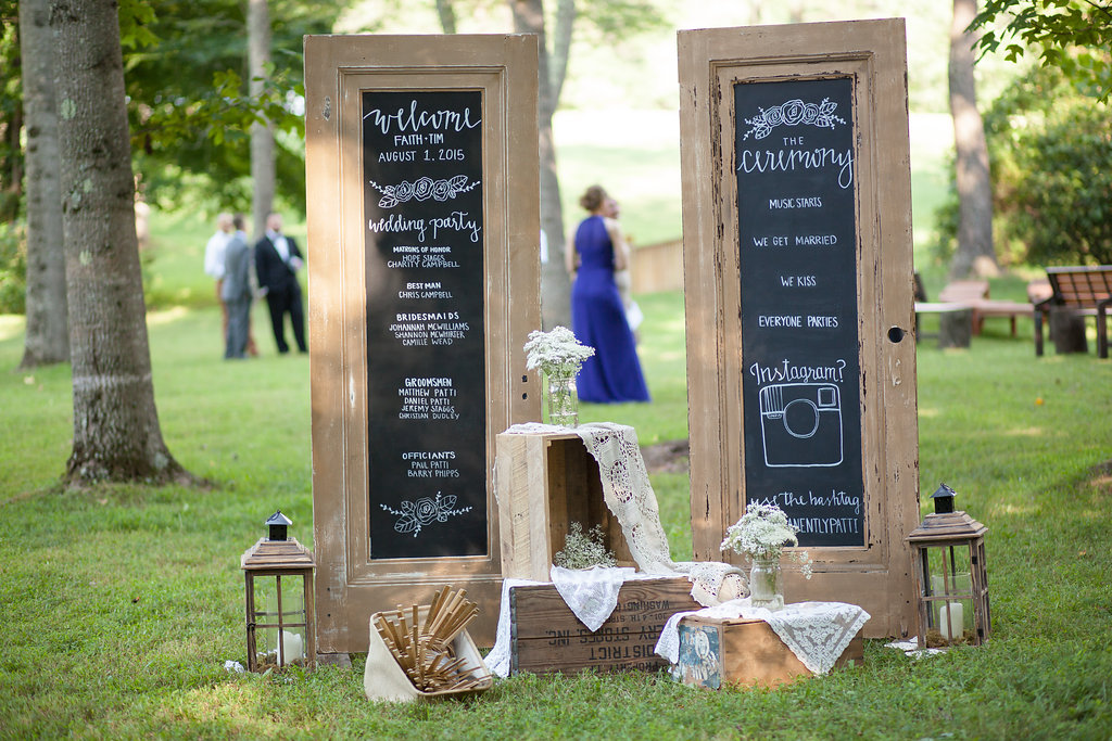 Welcome to Tim & Faith's Wedding!