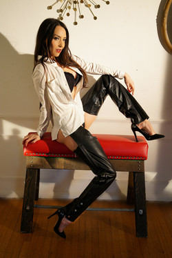 Leather Meets Business
