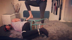 Implementing fierce interrogation tactic