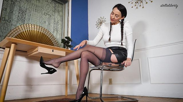 You wish__#stockings #nylons #garters #l