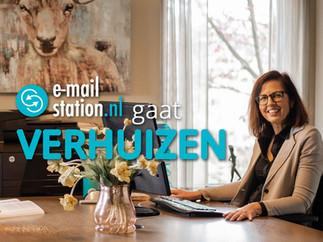 E-mailstation gaat verhuizen