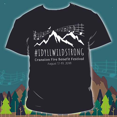 2018 Idyllwild Strong Festival T-shirt