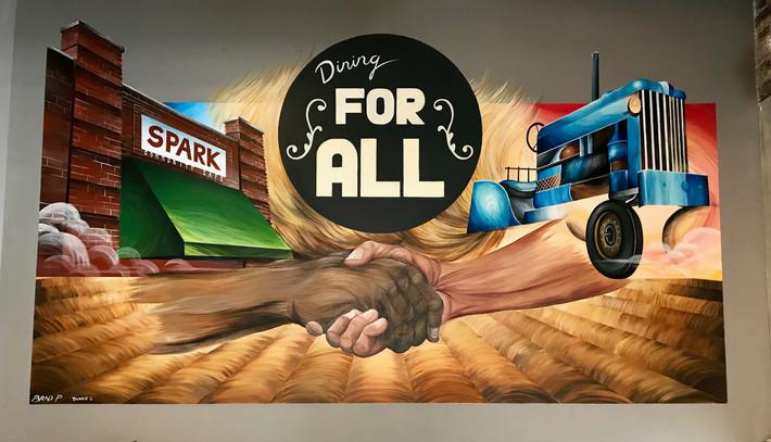 Spark Mural