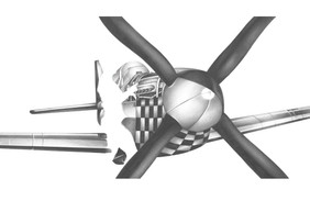 P51 Final Graphite Drawing