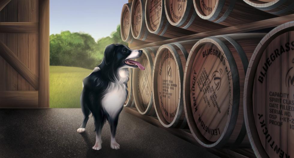 Barrel-Aged Fincastle Cider Label
