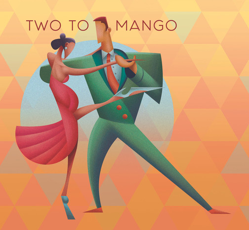 Two to Mango Hard Cider Label