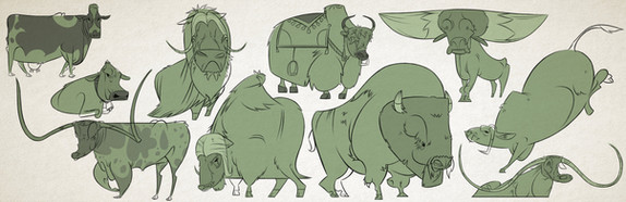 Bovine Character Study