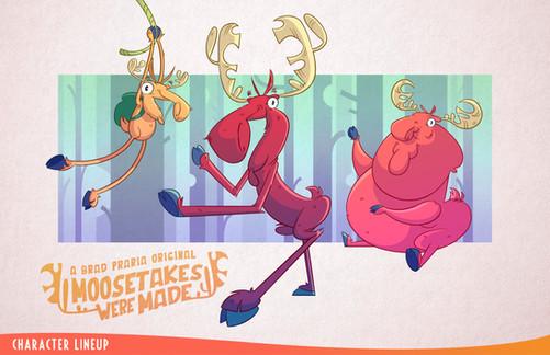 Moosetakes Were Made Character Lineup