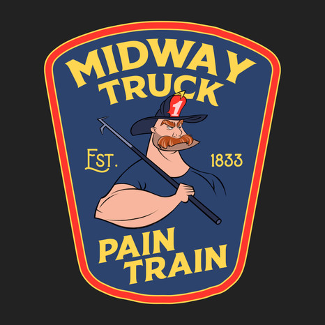 Midway Fire Department Patch