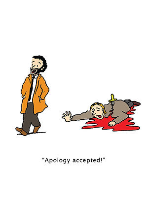 Apology - A6 Greeting Card