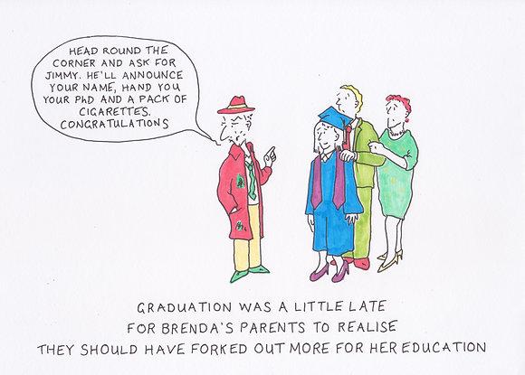 Graduation - Hand Drawn