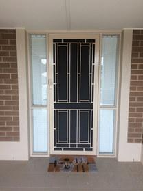 Cast Security Door.