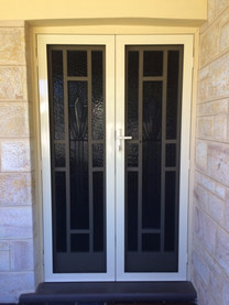 Supascreen Double Hinged Security Doors