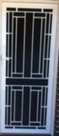 security door screeen door