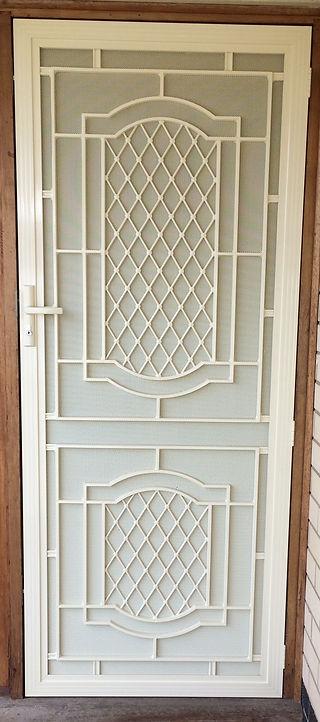 security door screen door