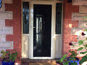 Supascreen Hinged Security Door.