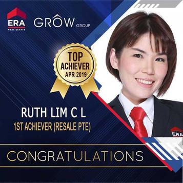 Ruth Lim April 2019 1st Achiever Resale.