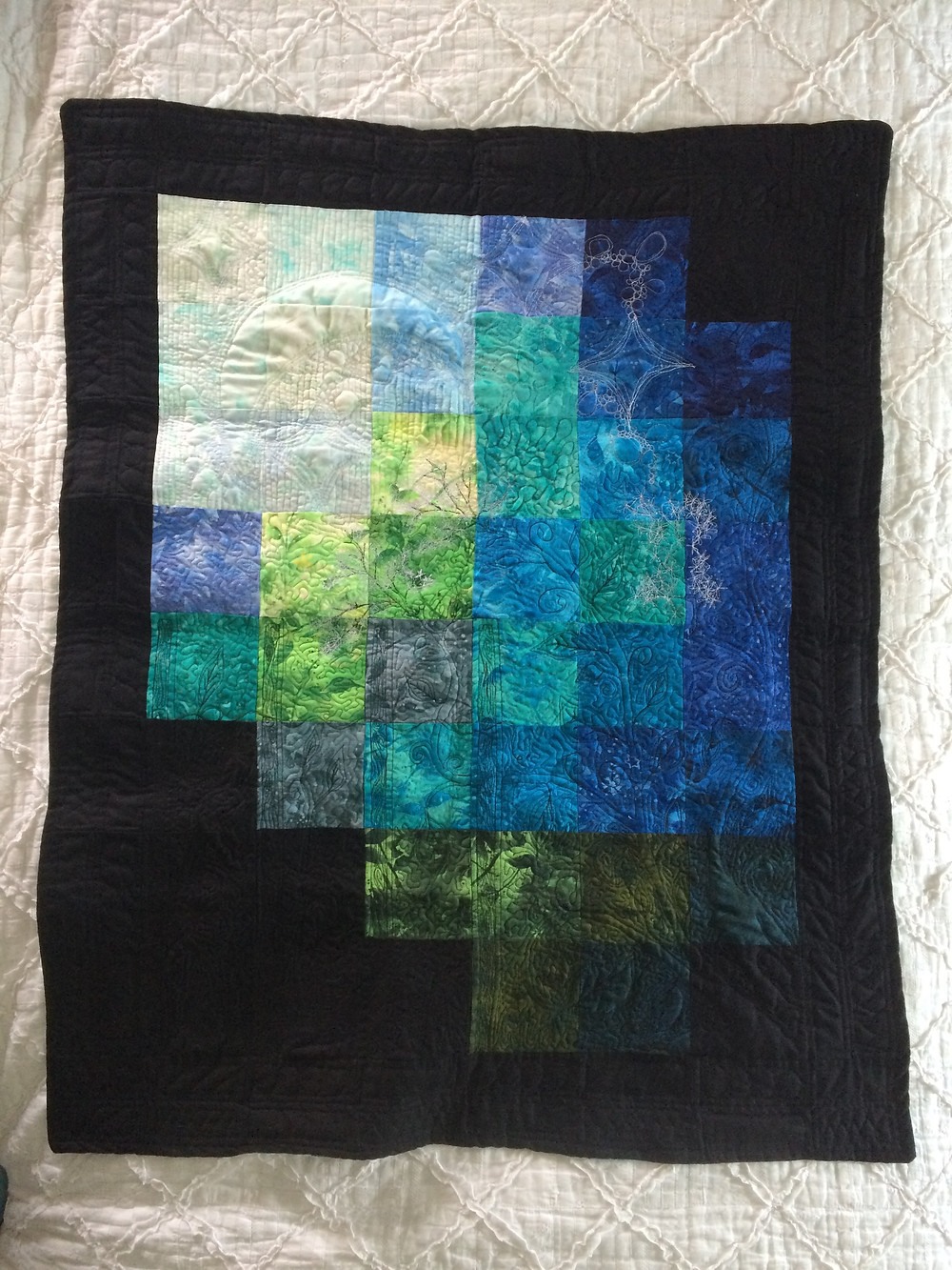 The whole quilt top