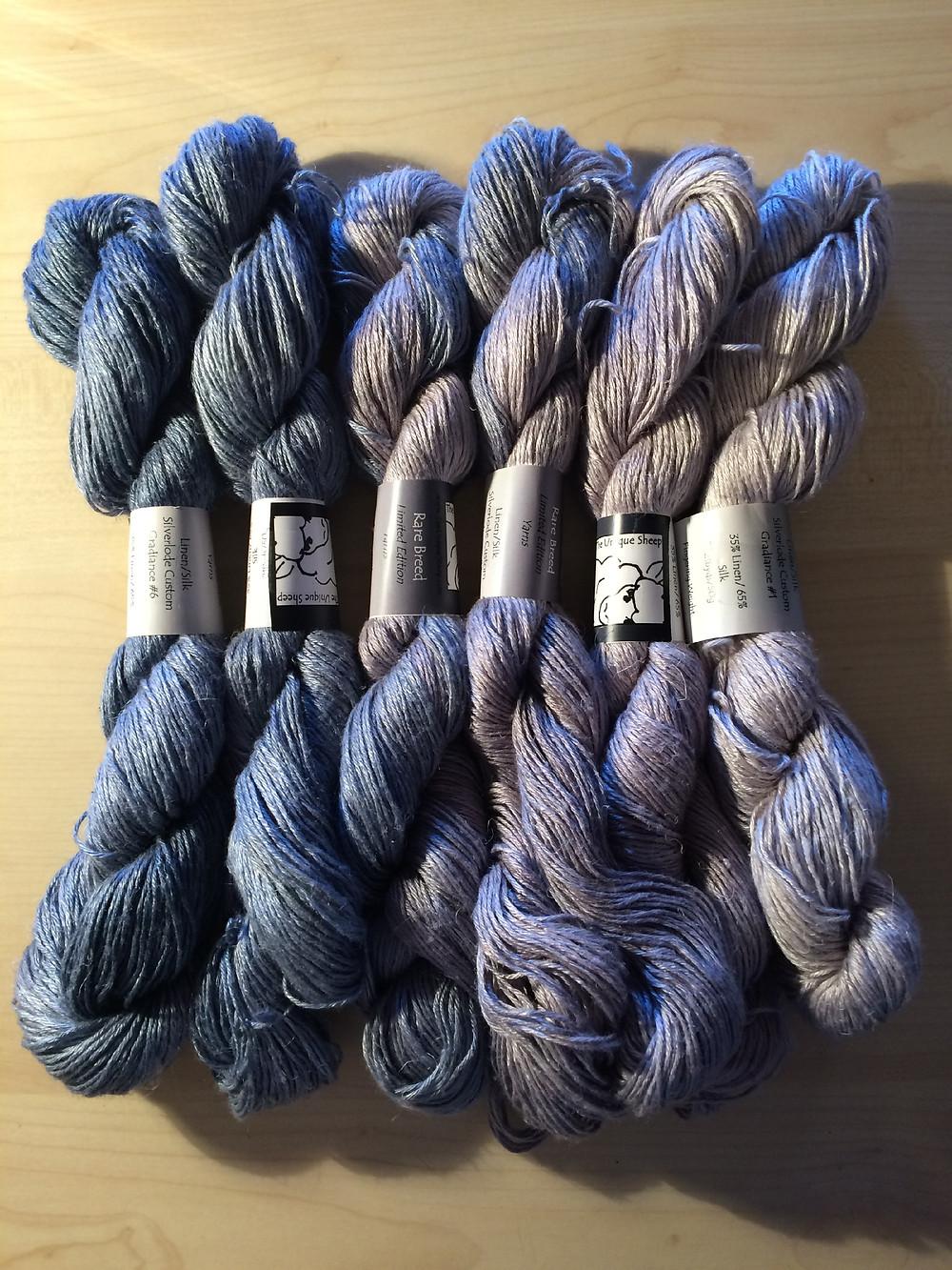 The Unique Sheep's Silverlode on Silk-Linen Rare Breed