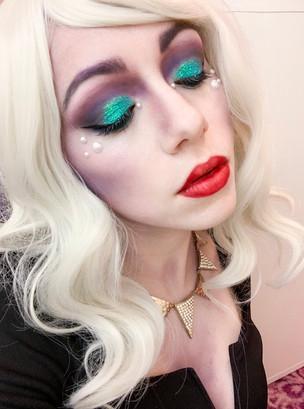 Disney's Ursula Festival Makeup