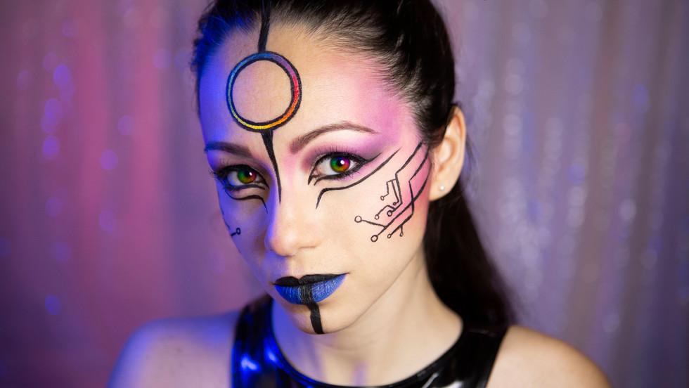 Josh AI Fantasy Makeup