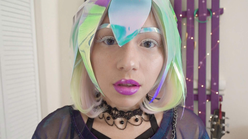 Land of the Lustrous Diamond Cosplay Makeup