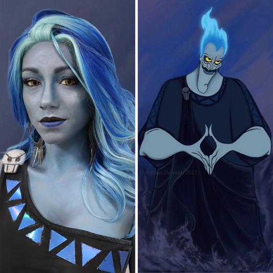 Disney's Hades Body Paint