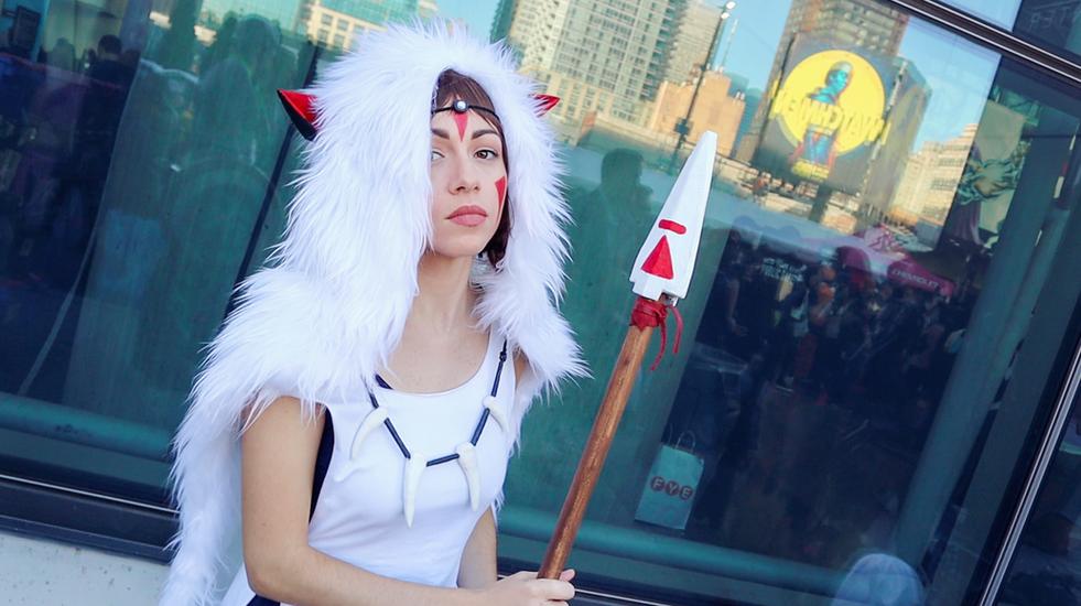 Princess Mononoke Cosplay Makeup