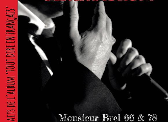 Single Monsieur BREL 1966 & 78