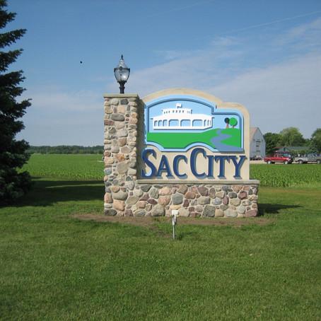 Tour of Sac City, Iowa - with Bert Wayt