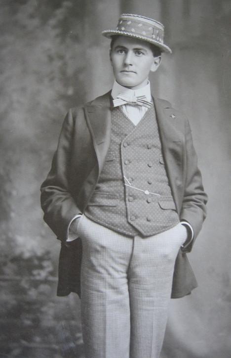 Leon Reginal Wayt (courtesy Sac City Museum)