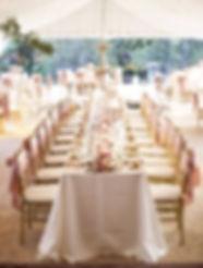 Свадебное оформление в пастельных тонах