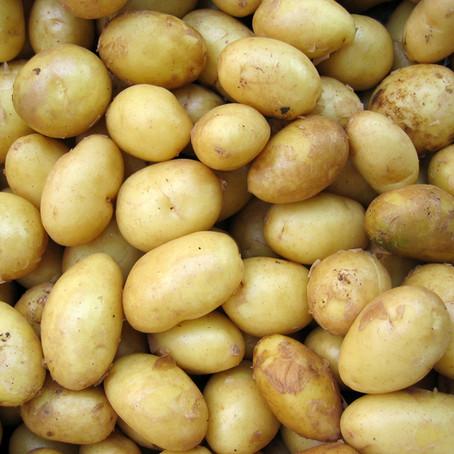 La patate sur le grill