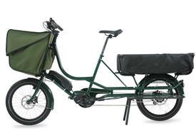 Bicicapace Justlong (E6100, schwarz)