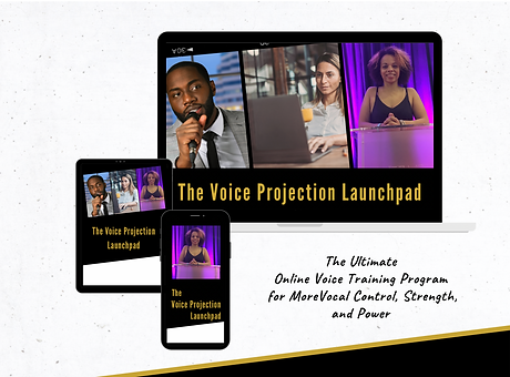 Voice Projection Launchpad Online Course