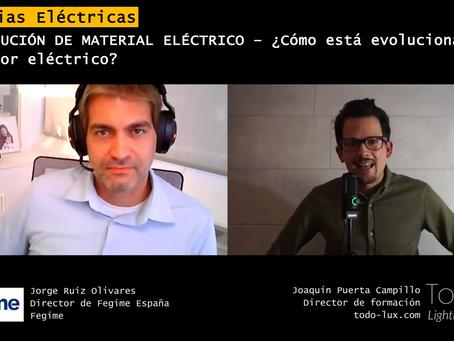 ¿Cómo está evolucionando la distribución de material eléctrico?