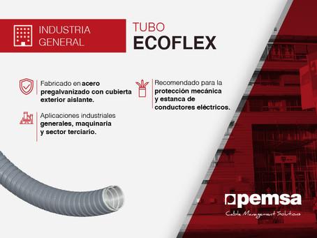 Descubre el Tubo ECOFLEX, la solución de Pemsa para la protección del cableado en varios sectores