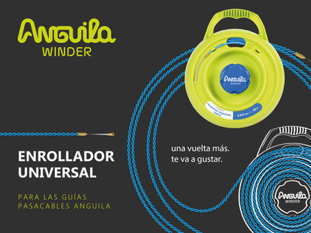 Anguila Winder, una vuelta más te va a gustar